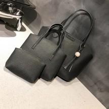 set torbe 3 u 1 tamno siva